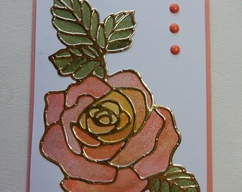 Shimmery Rose