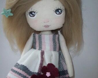 cloth doll, rag doll, girl gift