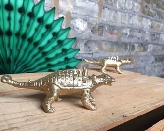 Set of Dinosaur Wedding Cake Toppers