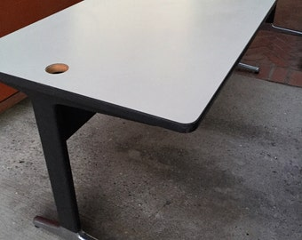 Mid Century Herman Miller Desk Table