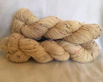 Dirty Chai - Au Natural - hand dyed yarn