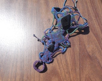 Gypsie Macrame Bracelet whit ring included