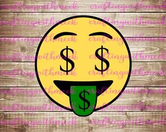 Money Emoji- Cricut Explore - Design Space