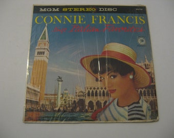Connie Francis  -  Sings Italian Favorites - 1959
