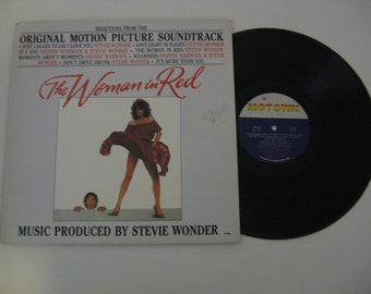 Stevie Wonder - The Woman In Red - 1984
