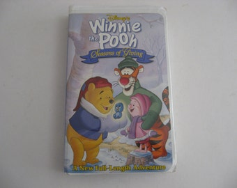 Walt Disney - Winnie The Pooh - Seasons Of Giving - 1997