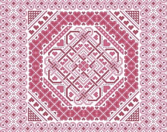 Celtic Romance Cross Stitch ONLY PDF Chart by Northern Expressions Needlework