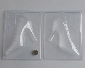 DIY Women's Large 3D High Heel Stiletto Shoe, Left and Right Sides Combined - Bundle! AO300
