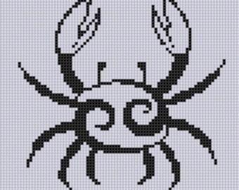 Zodiac Cancer 2 Cross Stitch Pattern