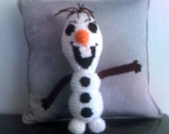 Snowman Stuffed Plushie Toy
