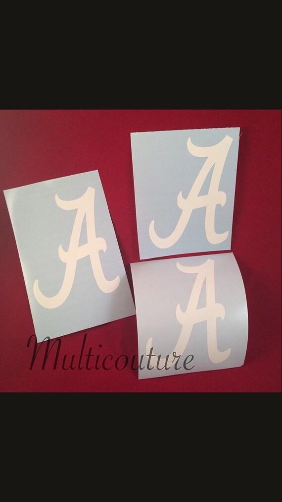 Decal: Alabama A vinyl decal