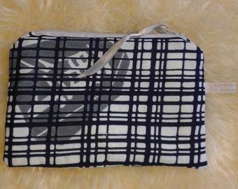 Vintage Kimono make-up bag / purse