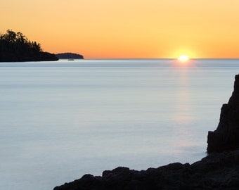 Lake Superior Photography, Great Lakes Art, Minnesota Art, Minnesota Photography, Sunrise, North Shore, Fine Art Photography, Wall Art Decor