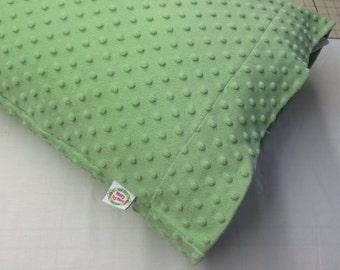 Minky Dot King Size Pillowcase