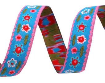 Ribbon flowers - width 16 mm