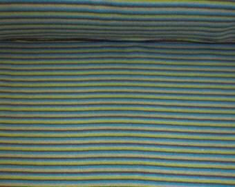 Striped rib Mulitcolor circumference 70 cm Blue