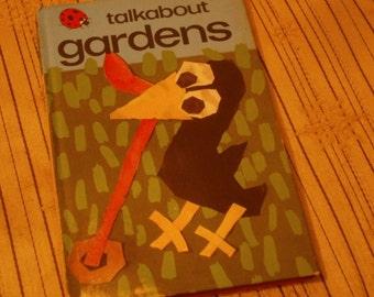 Vintage Ladybird Book Talkabout Gardens Series 735 1976