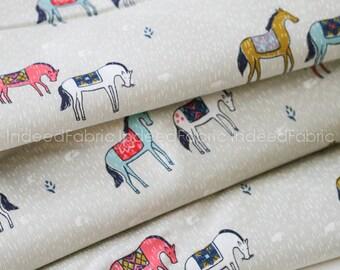 Horseback Neutral- Honeymoon Collection, Cotton + Steel, Quilting Weight Cotton