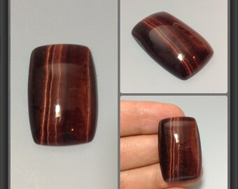 Red Tiger eye cabochon 20x30x7mm (grade A+)