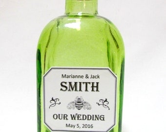 patron tequila inspired wedding favors maple syrup rehearsal dinner bridal tea party