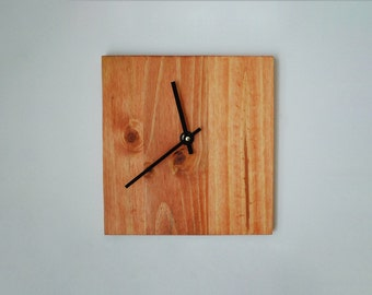 Reclaimed Wood Wall Clock- Maple