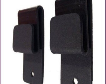 Kydex J Hooks or Loop style holster clips HEAVY DUTY .093  Fits 1 1/2 inch belt (1 pair)= 2 clips