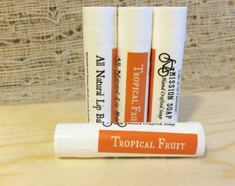 Tropical Fruit Beeswax Lip Balm