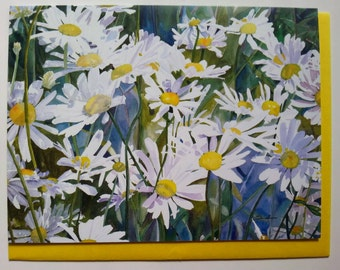 Busy Daisy Day note cards