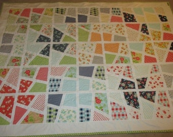 Stainglass- Happy Go Lucky Quilt