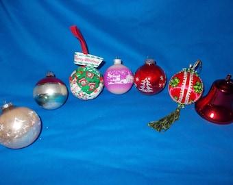 Christmas Tree Ball Decoration Assortment