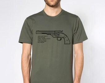 KillerBeeMoto: Smith And Wesson Model 3 Schofield Revolver Short & Long Sleeve Shirts