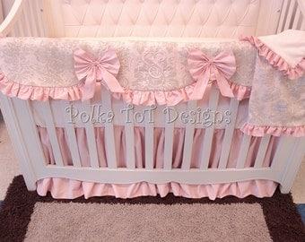 Keepsake Bumperless Baby bedding: Harmony