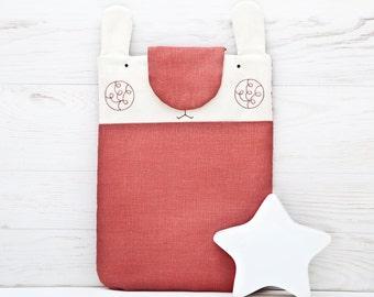Bunny Macbook Pro Retina 13 Case Red MacBook Cover Macbook air 13 sleeve Animal Custom Laptop sleeve MacBook 12 Inch Sleeve Mom Gift