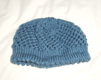 hand knitted toddler hat