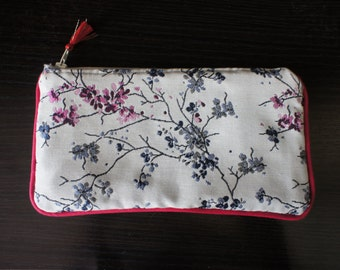 cotton fabric pouch