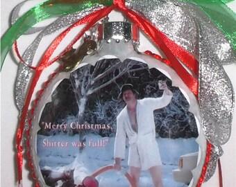 Christmas Vacation movie inspired Tribute Christmas Ornament flip full 8