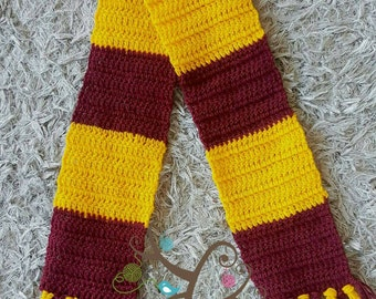 3-6mth baby Harry Potter scarf photography prop.