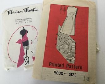70s uncut Marian Martin 9030 dress pattern size 14