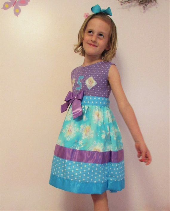 Frozen Birthday dress/birthday dress/Elsa birthday dress/birthday party/girls birthday/Frozen dress/