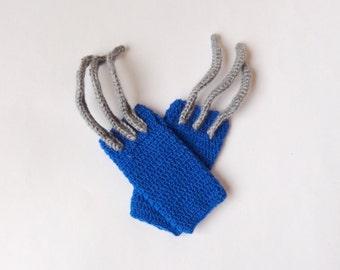Wolverine Marvel Gloves, Wolverine Beanie- Superhero Gloves  Newborn Child   X-Men - Halloween / Cosplay n