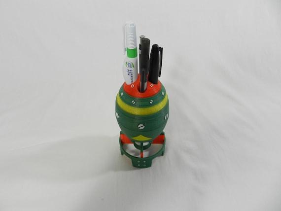 3D Printed Fallout 4 Mini Nuke Pen Holder Non Painted