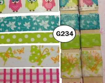 Owls, Washi Tape, BY the YARD, 3 FOOT Christmas, Crafts, Cards, Scrapbook, Embellishment, Masking Tape, Tape, Tags