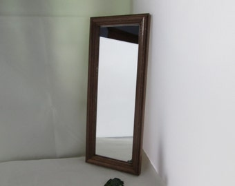 Narrow mirror etsy for Long narrow mirror