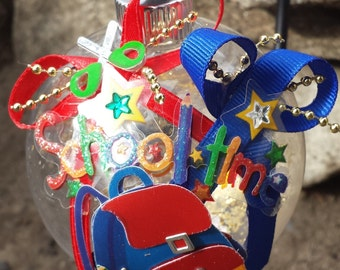 Teacher Christmas Ornament - Schooltime