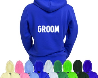 Groom & Groomsman Printed Hoodies