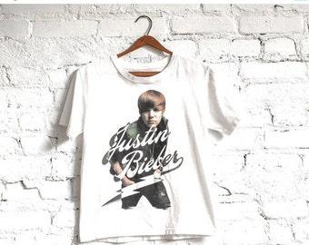 Justin Beiber Concert Tee // Justin Bieber Concert T // Justin Bieber Tour Tee // Band T Shirt