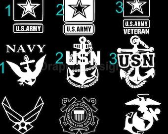 Military Decals Vinyl