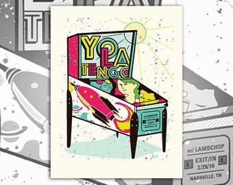 Yo La Tengo Screenprint