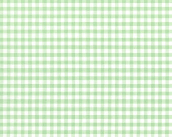 Modern Plaid - Celadon (85) by In The Beginning Quilt Fabric Sewing Fabric