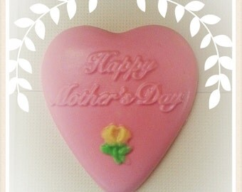 Organic and handmade Mother's Day soap